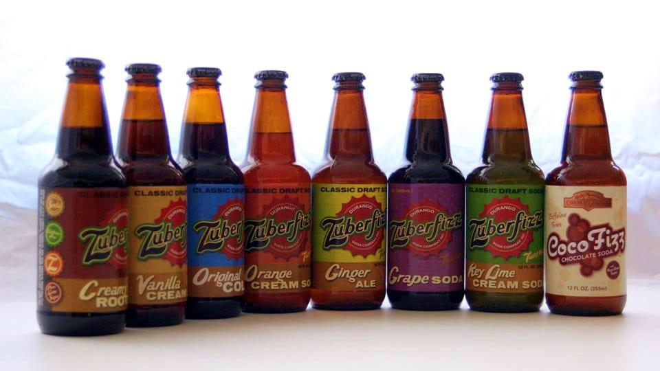 Zuberfizz Durango Soda Flavors