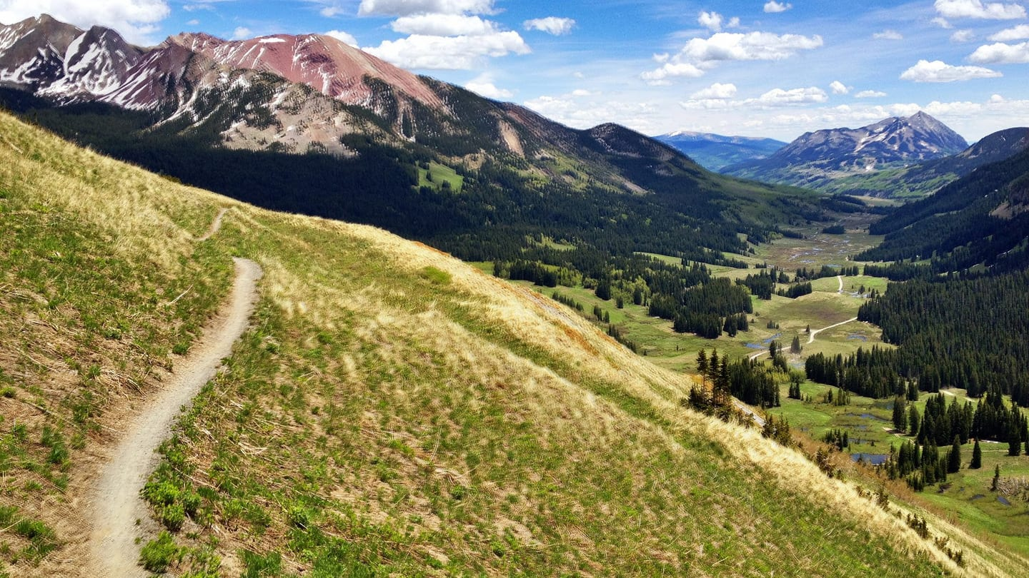 401 Trail Mountain Biking Crested Butte Singletrack