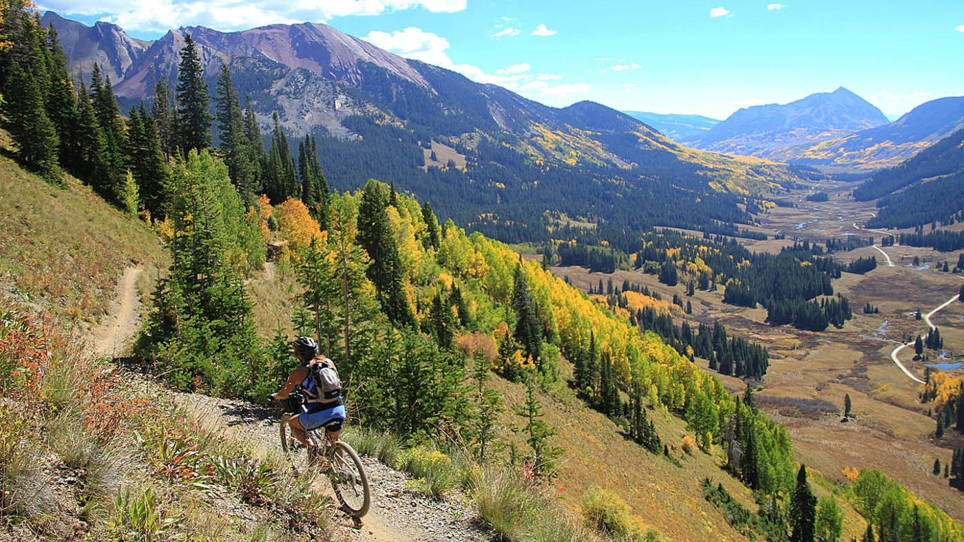401 Trail Mountain Biking Crested Butte