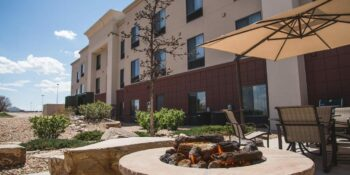 Greeley CO Top Hotel Hampton Inn and Suites Exterior