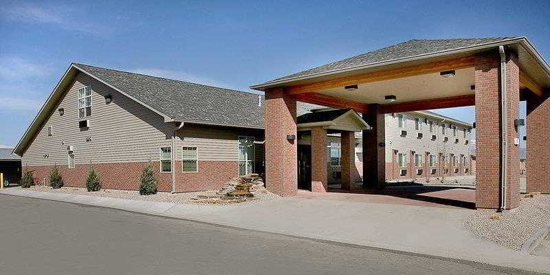 Walsenburg CO Top Hotel Best Western Rambler Exterior