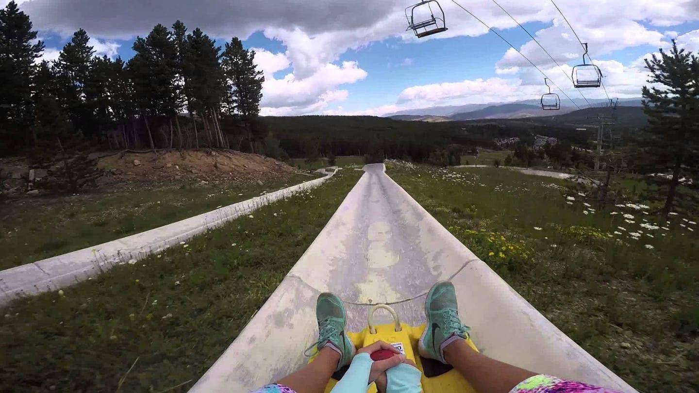 Breckenridge Resort Alpine Slide