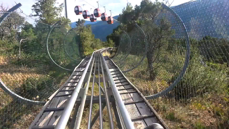 Glenwood Caverns Adventure Park Alpine Coaster