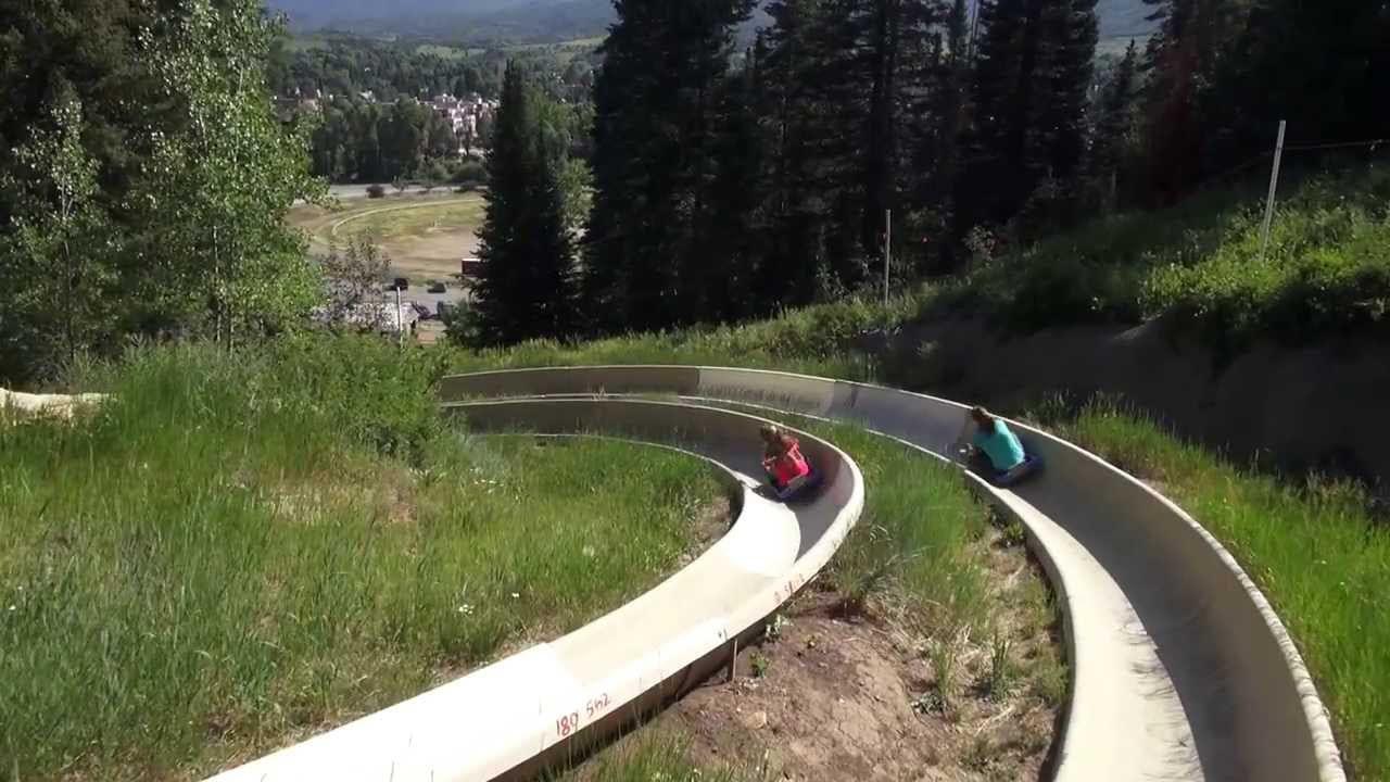 Howelsen Hill Alpine Slide Steamboat Springs
