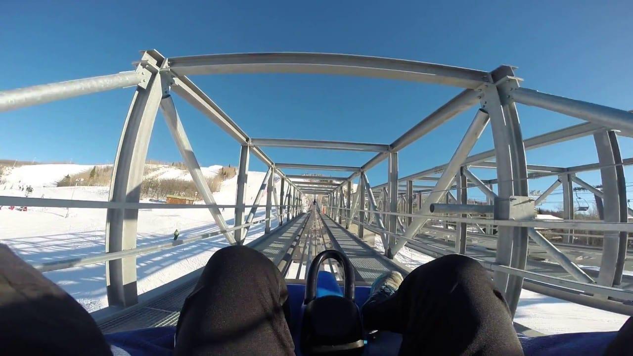 Steamboat Resort Alpine Coaster