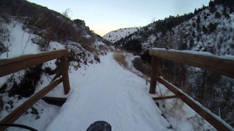 Apex Trail Golden Colorado Winter Biking