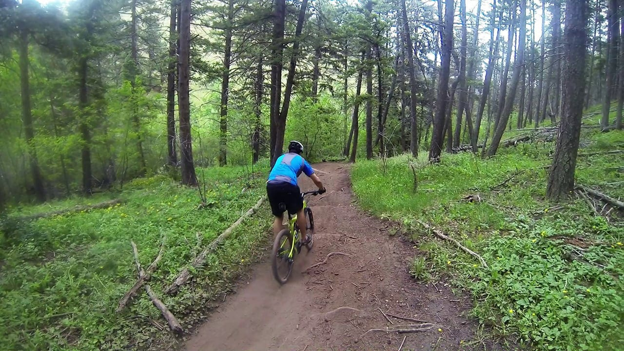 Mountain Biking Apex Trail Colorado