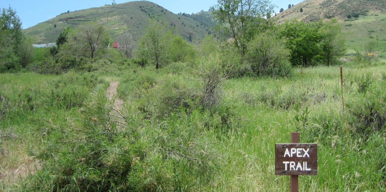 Apex Trail Golden Colorado