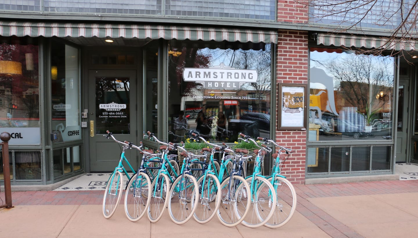 Armstrong Hotel Cruiser Bikes Fort Collins