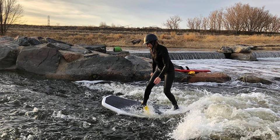 Badfish SUP River Boarding