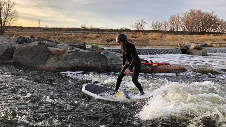 Badfish SUP River Boarding