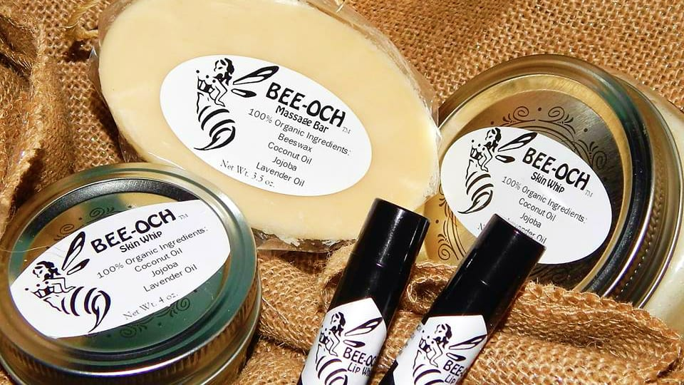 BEE-OCH Organic Skin Whip Massage Bar