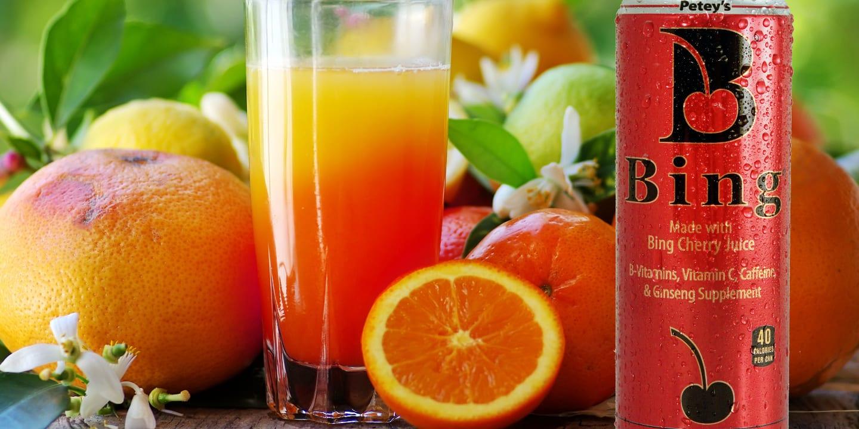 Bing Beverage Sunrise Cocktail