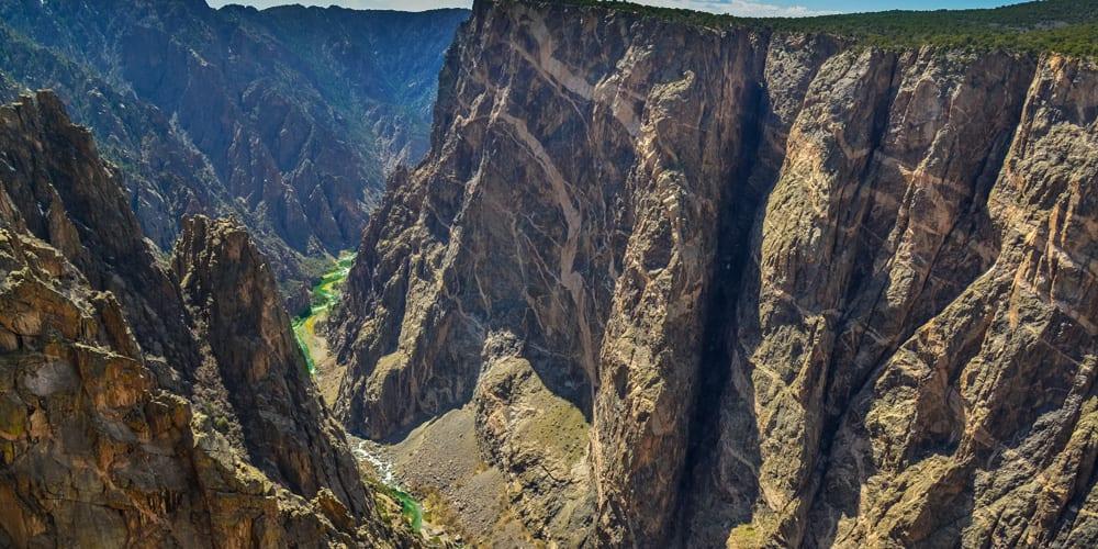 Black Canyon Gunnison Wilderness Colorado