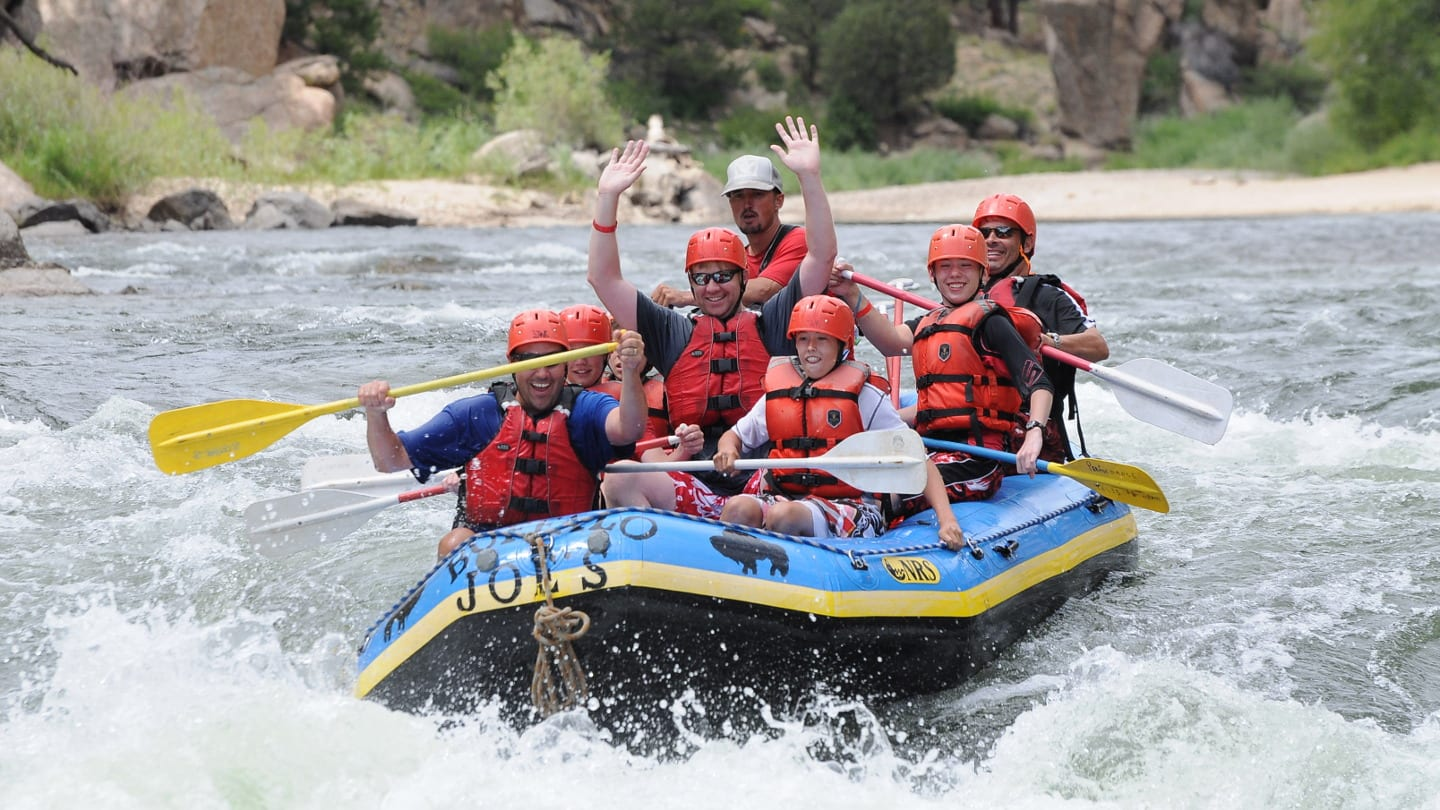 Arkansas River Colorado Whitewater Rafting