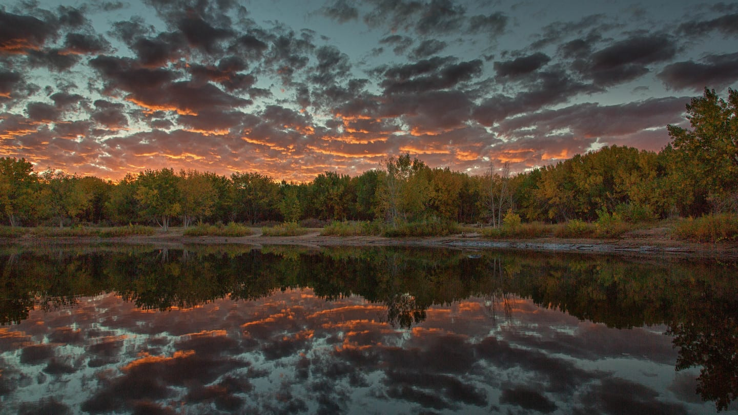 Chatifeld Lake Sunrise Colorado