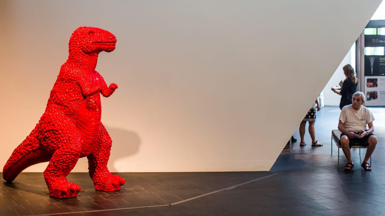 Denver Art Museum T-Rex Dinosaur