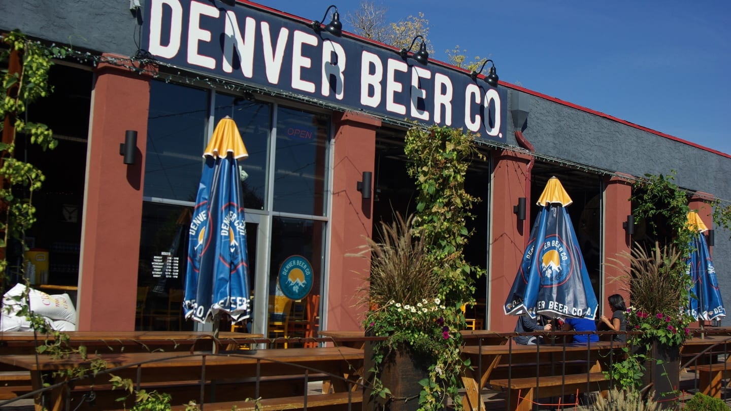Denver Beer Company Brewery Colorado