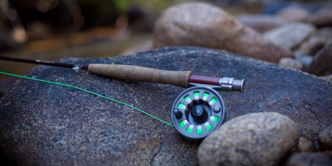 Fly Fishing Northern Saint Vrain River Colorado