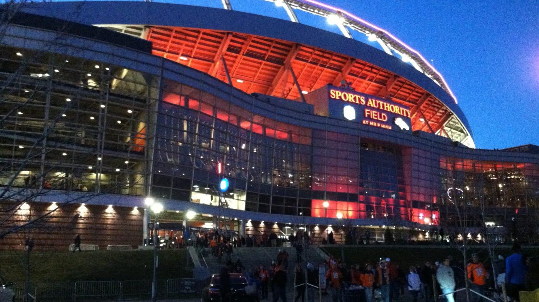 Mile High Stadium Denver Broncos
