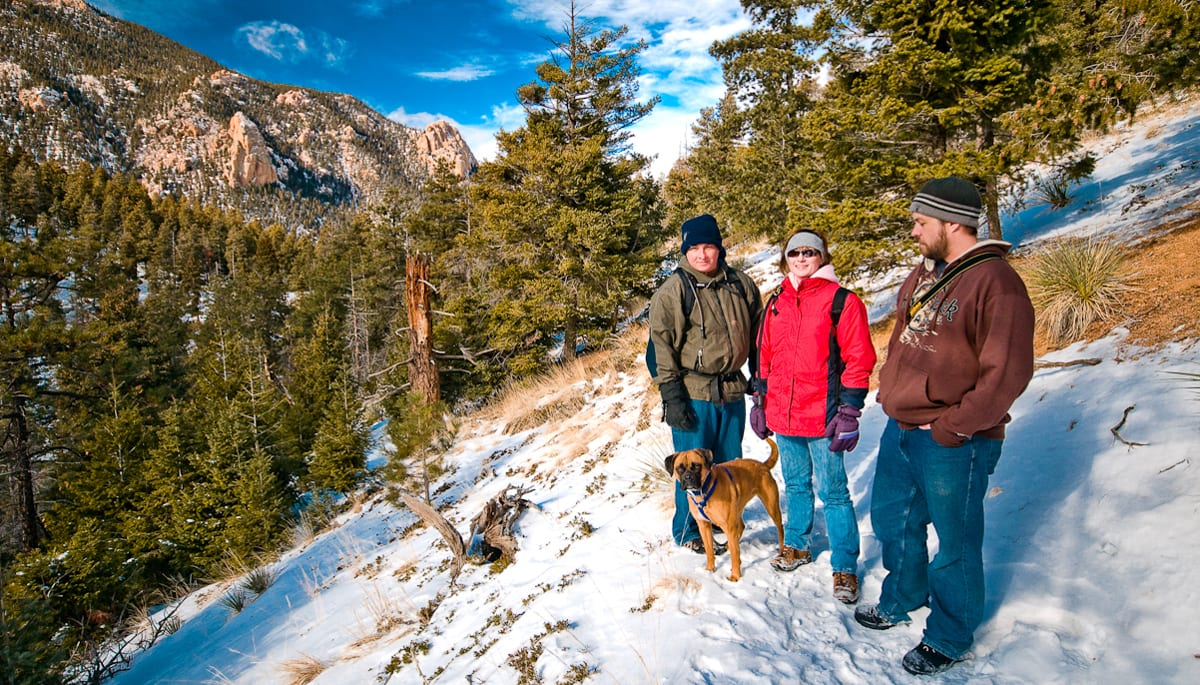 Colorado Springs Winter Hike