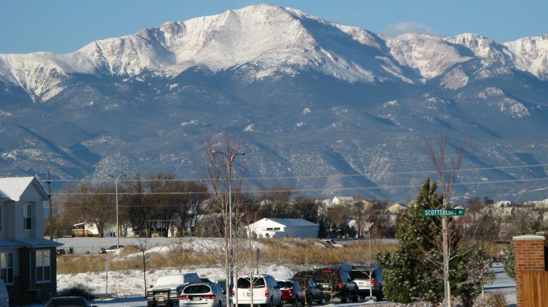 Stetson Hill Neighborhood Colorado Springs Pikes Peak View