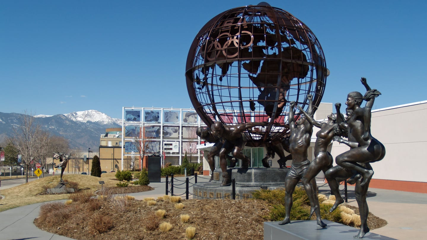 US Olympic Committee Headquarters Colorado Springs