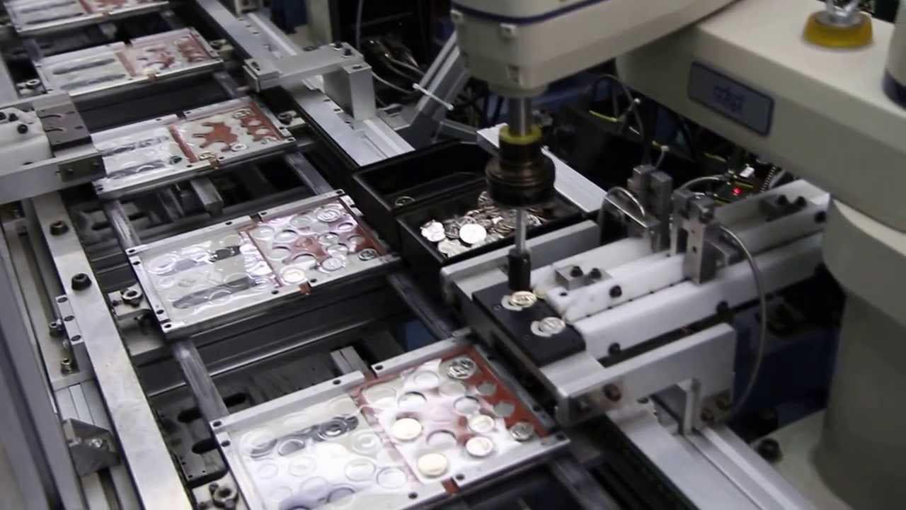 Denver Mint Coin Packaging Machine