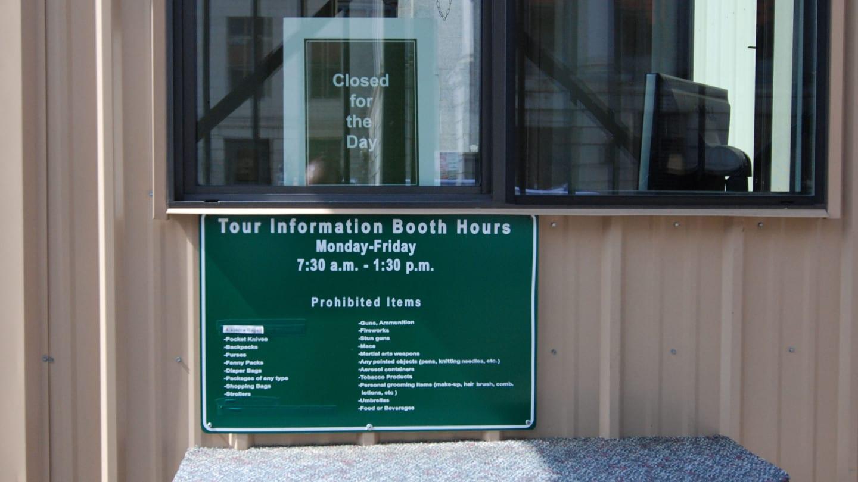 Denver Mint Tour Booth Sign