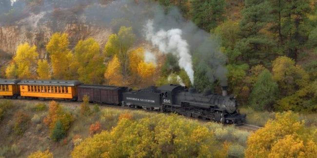 Durango Silverton Narrow Gauge Railroad Fall