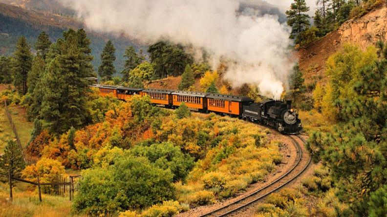 Durango Silverton Railroad Train