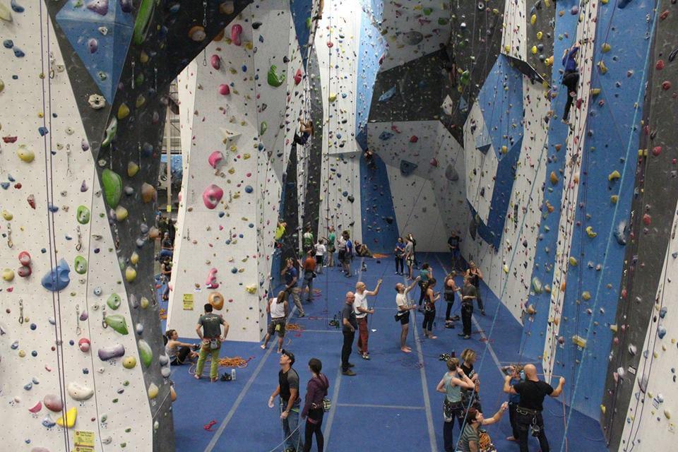 Earth Treks Indoor Rock Climbing Golden