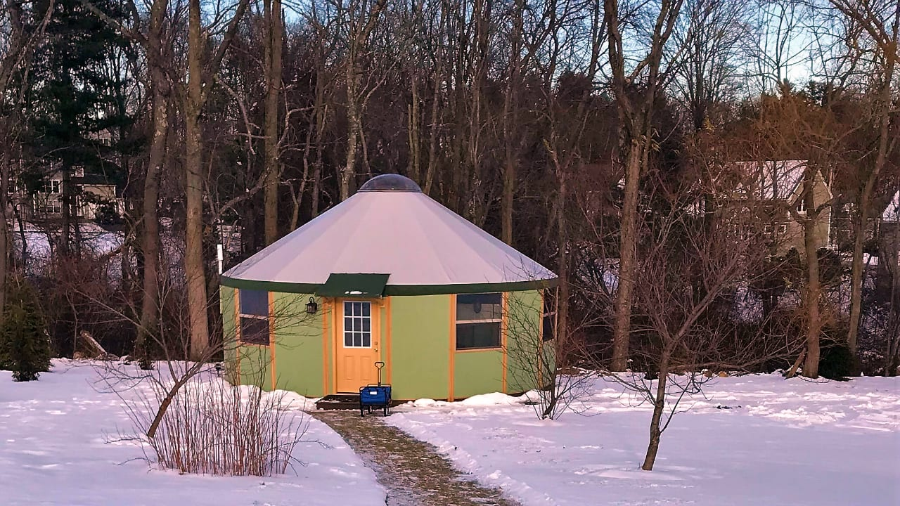 Freedom Yurt Cabin NH Massage Studio