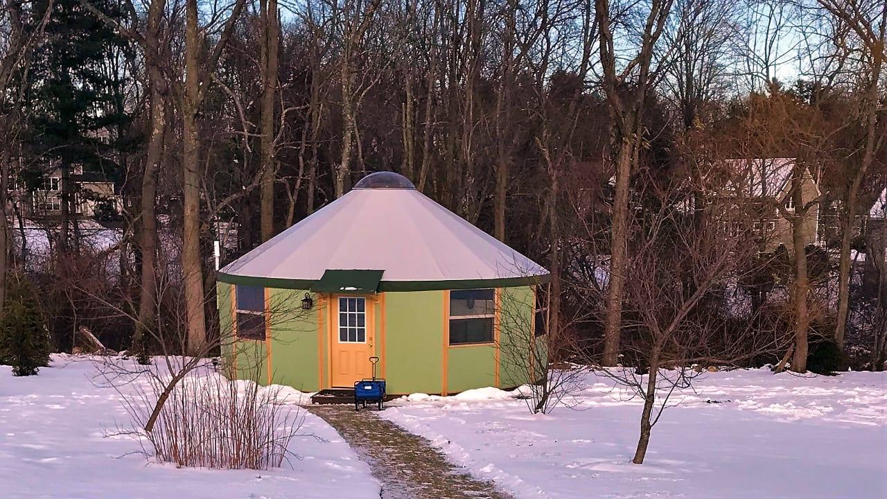 Freedom Yurt Cabin NH Massage Studio