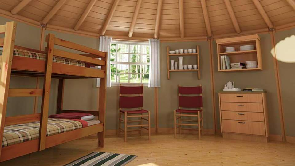Freedom Yurt Cabins Interior