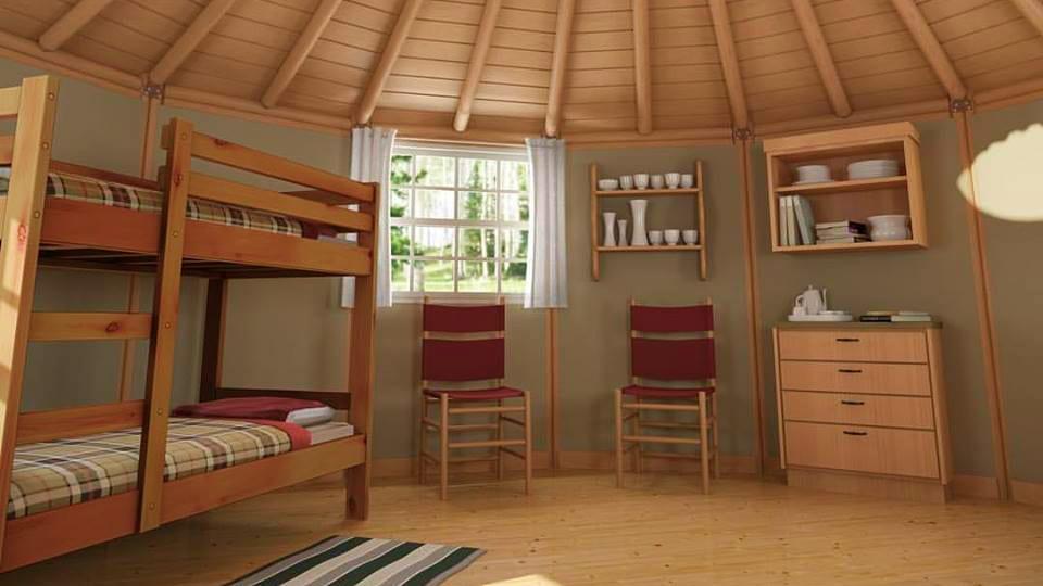 Freedom Yurt Cabins Interior