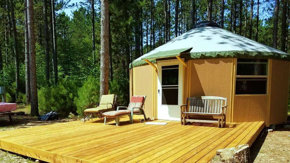 Freedom Yurt Cabins   Yurt cabins based in Colorado Springs, CO