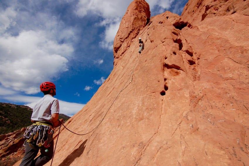Front Range Rock Climbing Garden of the Gods