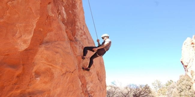 Front Range Climbing Garden of the Gods