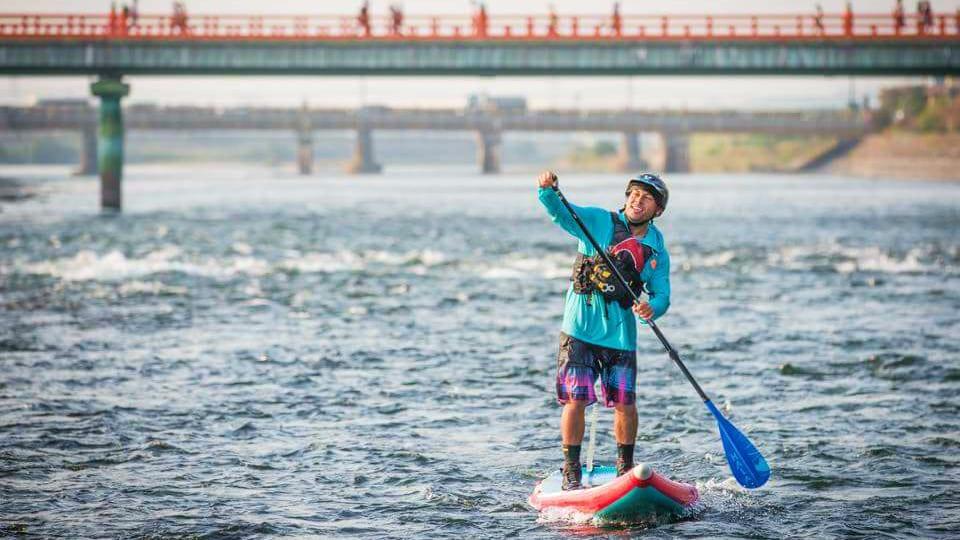 Hala Gear Standup Paddle Board River