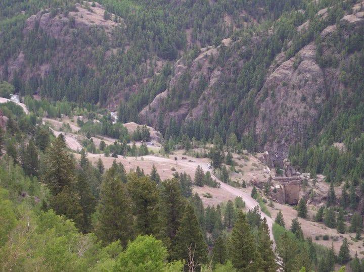 Hard Tack Mine Hidden Treasure Mill Lake City Colorado
