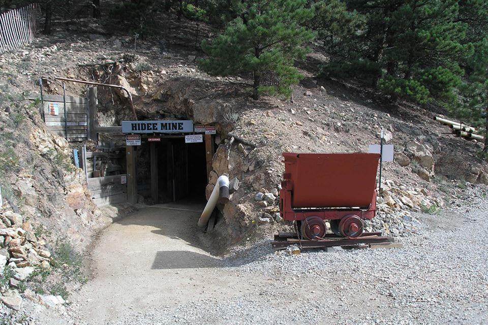 Hidee Gold Mine Central City Colorado