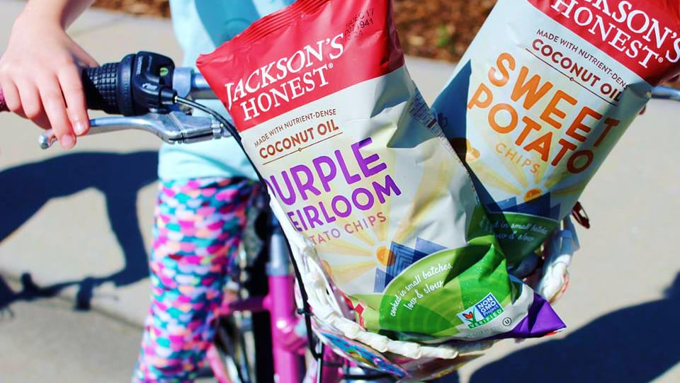 Jackson's Honest Chips Purple Heirloom and Sweet Potato