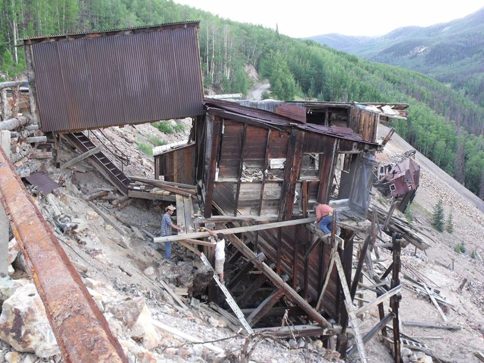 Last Chance Mine 1891 Ore Sorting Building Creede