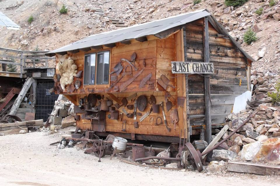Last Chance Mine Miner's Cabin Creede