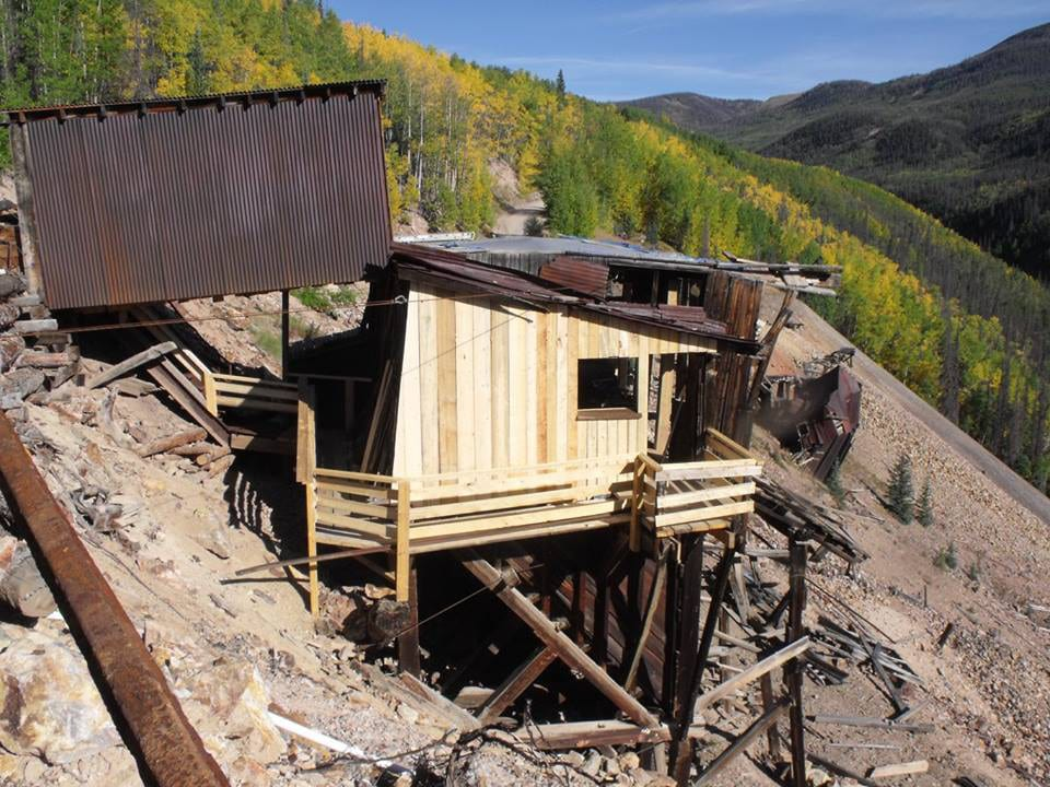 Last Chance Mine 1891 Ore Sorting Building Restored Creede