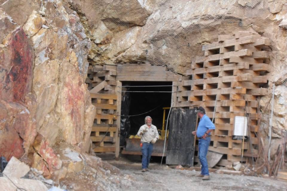 Last Chance Mine Tunnel Two Entrance Creede