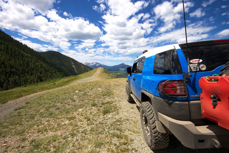 Last Dollar Road Scenic Drive Colorado