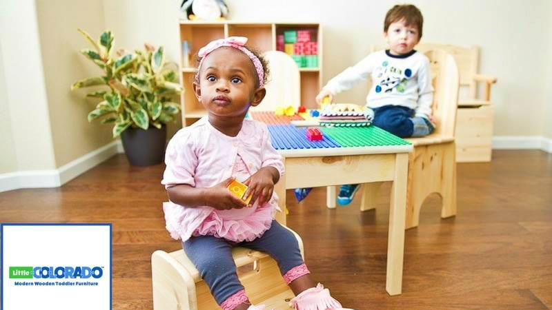 Little Colorado Modern Wooden Toddle Furniture