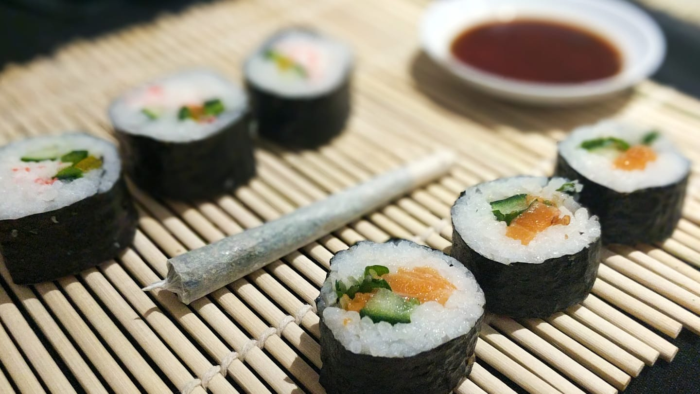 My 420 Tours Sushi and Joint Rolling Class Denver